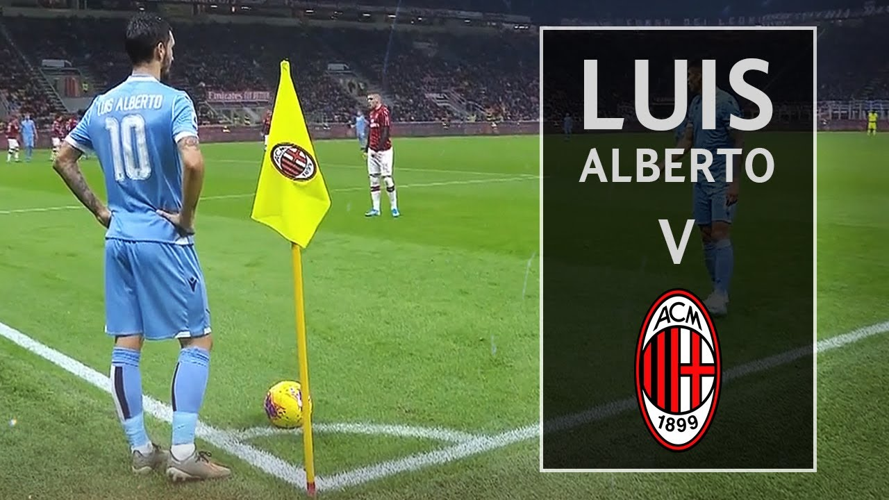 Luis Alberto vs Milan Away - [03/11/2019] - YouTube