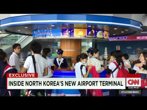 CNN News July 4, 2015 Exclusive look inside North Korea's new airport