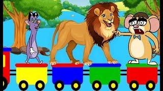 Rat-A-Tat |'Animals Train Video For Kids Wild Animals Cartoons'| Chotoonz Kids Funny Cartoon Videos
