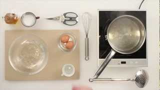 Как приготовить яйцо пашот(Поширование (вот так вот ловко меняется гласная — «пашот», но «пошировать») — процесс деликатный и требует..., 2013-04-05T10:46:44.000Z)