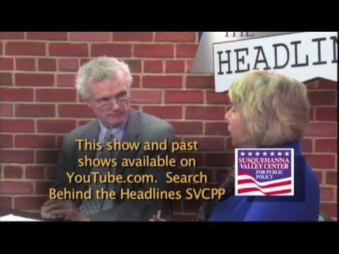 Behind the Headlines March 13, 2017 Susquehanna Valley Center for Public Policy