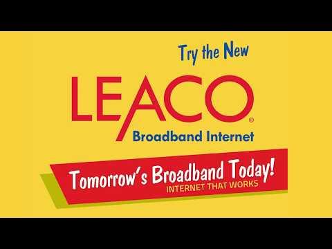 Leaco Broadband Speed Demonstration - Seeing is Believing
