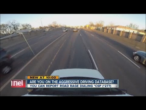 Are you on the Colorado aggressive driving database?