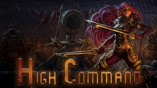 League of Legends: High Command Katarina (Skin Spotlight)
