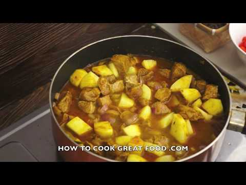 Beef potato curry recipe indian cooking super easy youtube forumfinder Images