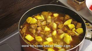 Beef & Potato Curry Recipe Indian Cooking - Super Easy