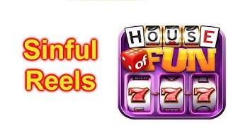 "HOUSE OF FUN Casino Slots Game How To Play ""Sinful Reels"" Cell Phone"