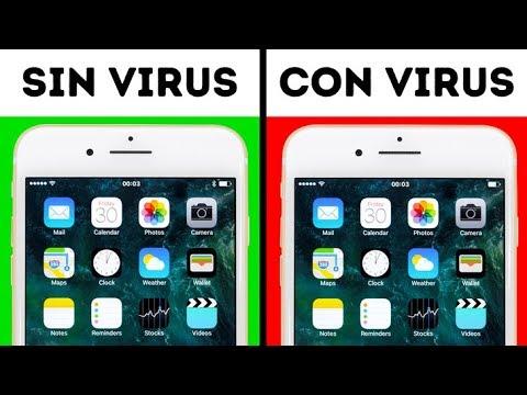 9 Señales de que tu teléfono tiene un virus