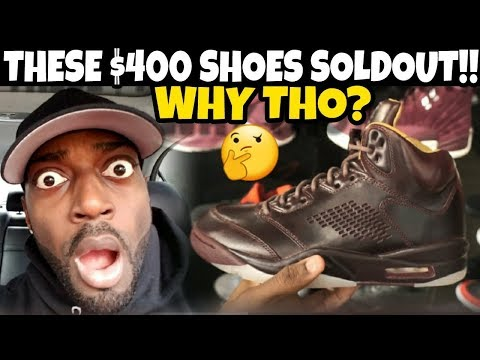 WTF THESE UGLY $400 JORDANS ACTUALLY SOLDOUT TODAY!!