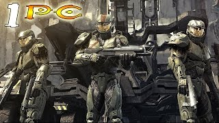 Halo Wars Definitive Edition Walkthrough: Part 1 - ALPHA BASE! (PC Gameplay 60fps)