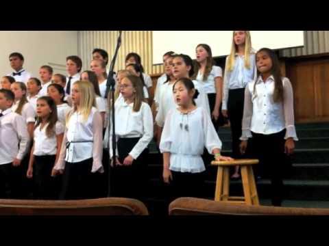 Calvary Christian School's Choir Performance 2012