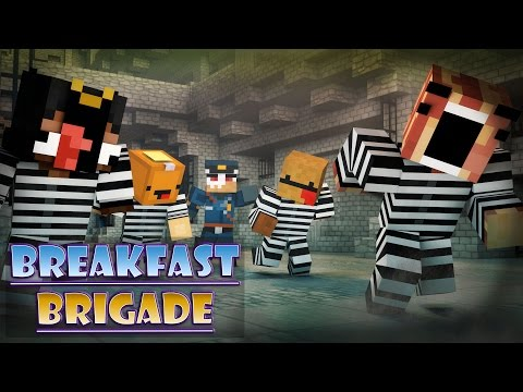 Minecraft Breakfast Brigade : COPS N ROBBERS!! (THE CEREAL KILLER?!)