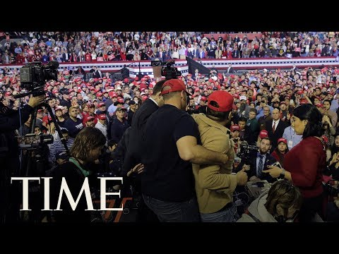 BBC Cameraman Attacked By Trump Supporter At Rally In Texas | TIME Mp3