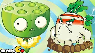 Plants Vs Zombies 2: Kung Fu World Far Future Daily Endless Challenge ( China Version)