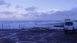 Fraserburgh Four Corners 5th December 2013 In Stormy Conditions