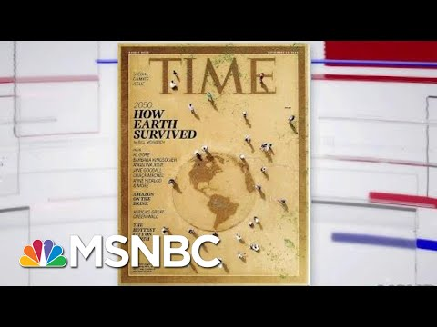 TIME Magazine Devotes Entire Issue To Climate Change | Velshi & Ruhle | MSNBC