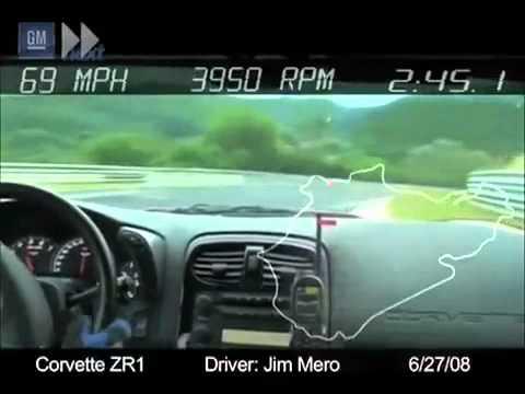 "Chevrolet Corvette ZR-1 / Nurburgring / Lap Record : 7""26.4"