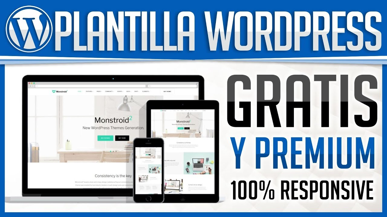 Instalar Plantilla Wordpress Profesional Gratis y Premium ...