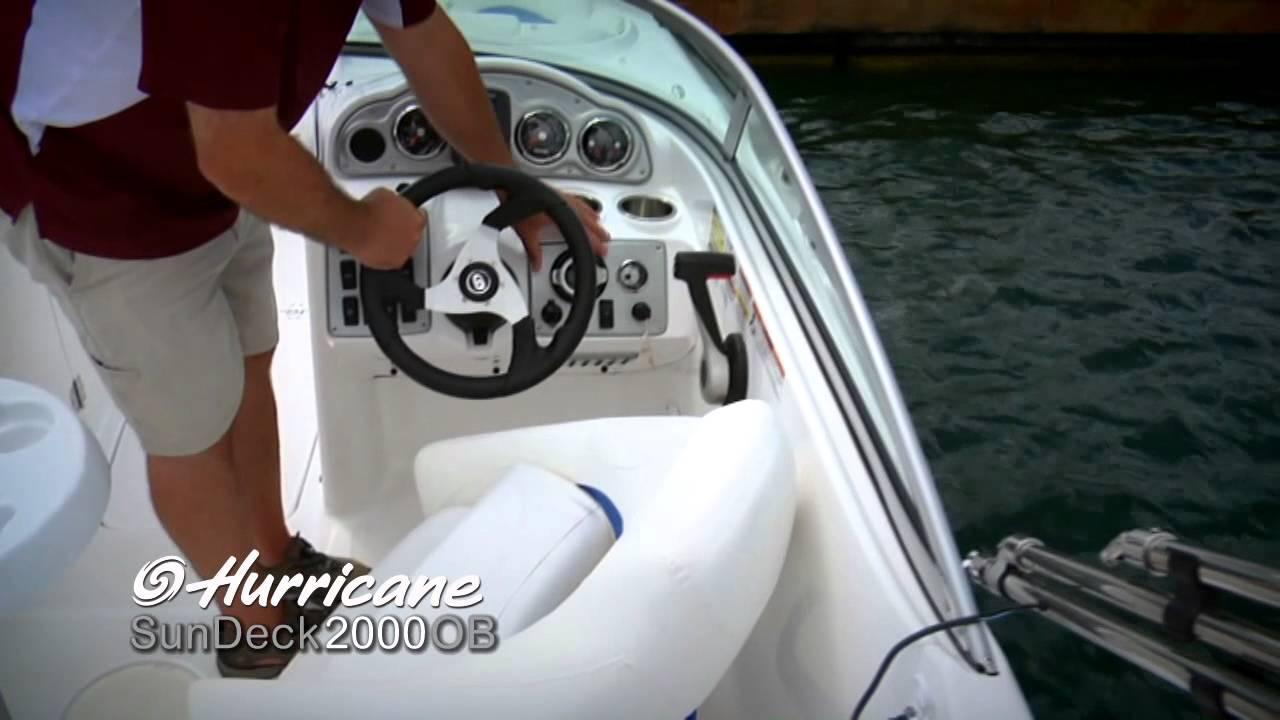 hurricane sundeck 2000 ob product walk through  hurricane boat 201 wiring diagrams #15
