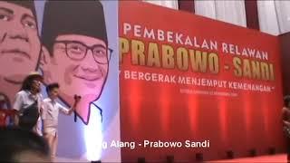 Sang Alang At Istora Senayan #prabowosandi