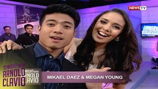 Tonight with Arnold Clavio: Kulitan with real-life sweethearts Mikael Daez at Megan Young