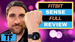 FITBIT SENSE In-Depth Full Review, Walkthrough, Unboxing, Sensors, Music!   Best New Fitbit (2020)? screenshot 2