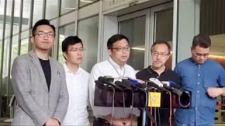 「直播」「反送中」張超雄 楊岳橋及尹兆堅回應有關陳同佳案