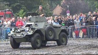 Stahl auf der Heide 2014 ♦ Ferret MK2 FV701 in Action ♦ British Army Radpanzer Frettchen