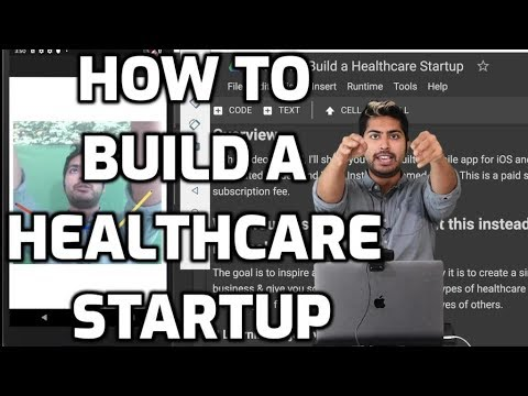 How to Build a Healthcare Startup thumbnail