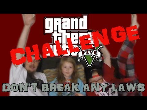 Playing Grand Theft Auto 5 Without Breaking Any Laws Challenge