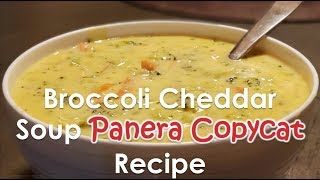 Broccoli Cheddar Soup (AMAZING) | Panera Broccoli cheddar so...