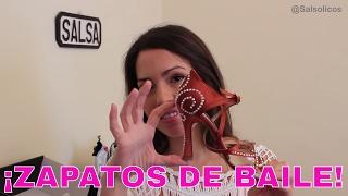 ZAPATOS DE BAILE - SALSA SHOES UNBOXING - SALSA VLOGS