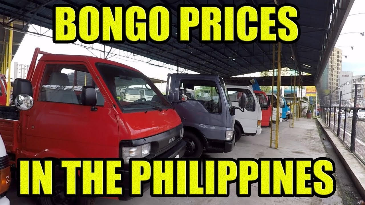 Bongo Truck Prices In The Philippines.