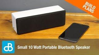 Small 10 Watt Portable Bluetooth Speaker - by SoundBlab