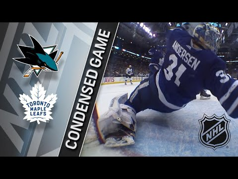 01/04/18 Condensed Game: Sharks @ Maple Leafs