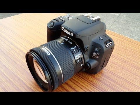 UNBOXING Canon EOS 200D DSLR