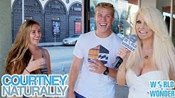 Courtney Stodden Naturally - Truth or Dare on Hollywood Boulevard Part 1