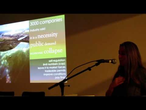 A lecture in Oslo, Norway with Polly Higgins who works as an earth lawyer protecting our planet.