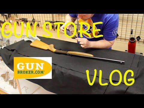 Gun Store Vlog 4: Gunbroker!