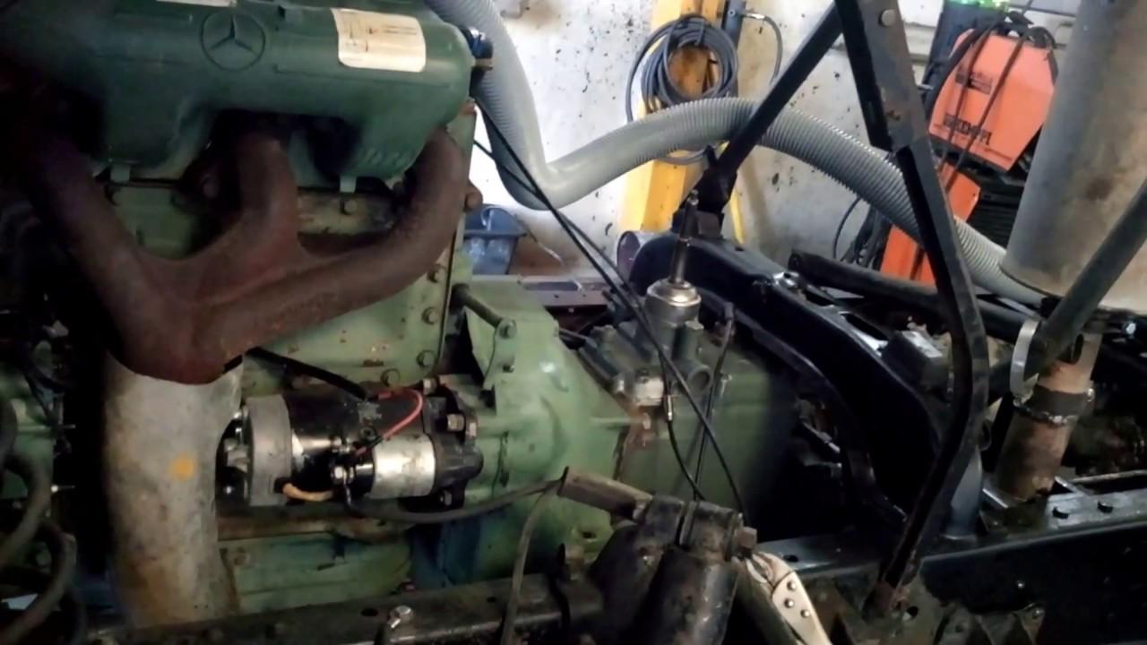 ГАЗ-66 дизельный двигатель OM364