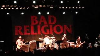 Bad religion punk rock song live @ Effenaar 2019