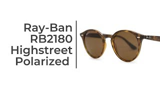 Ray-Ban RB2180 Highstreet Sunglasses Short  Review