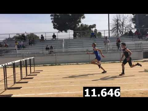 Boys Varsity 110h Hurdles-Cleveland vs. El Camino Real Dual Meet 4/5/18 (Res in Desc for Cavs)
