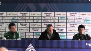 PK Waldhof Mannheim - FC 08 Homburg (23. Spieltag Regionalliga Südwest 2013/14)