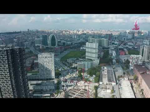 شقق جاهزة للبيع في اسطنبول   مجمع جالاكسي تاور