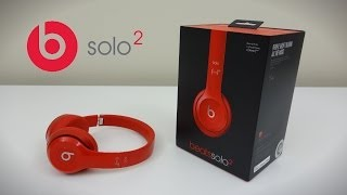 Beats by Dre Solo 2 Headphones - Unboxing and Review!(Unboxing the Latest headphones from Beats by Dre, the Solo 2. Pricing and availability: ..., 2014-06-15T23:09:34.000Z)