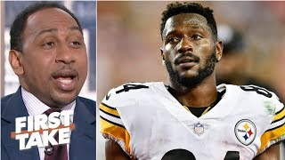 Steelers should trade Antonio Brown to the Buccaneers for DeSean Jackson – Stephen A.   First Take