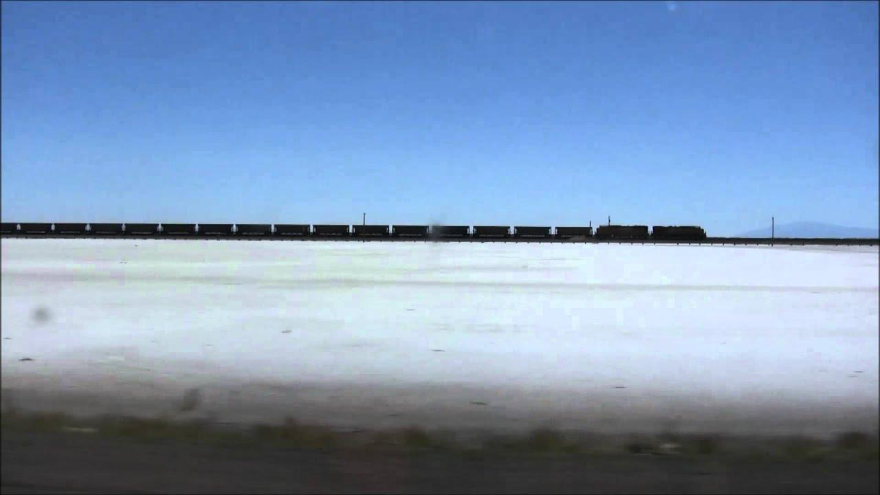 Ride Through The Great Salt Lake Desert Utah Usa Youtube