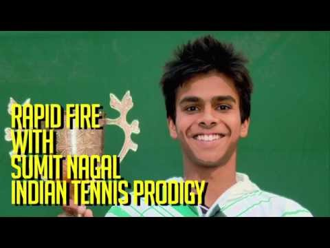 Rapid-fire with Sumit Nagal, 18 yr old Indian Tennis Prodigy