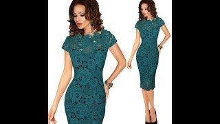Красивые гипюровые платья для девушек - нежное кружево